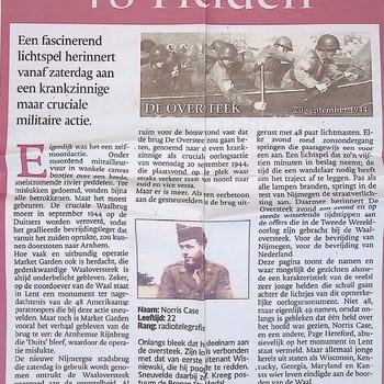 De Gelderlander, 20 november 2013