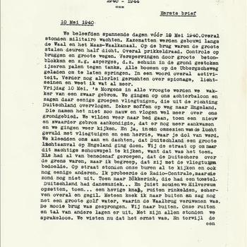 dagboek anoniem, getypt uit Nijmegen-Oost periode 1940-1945