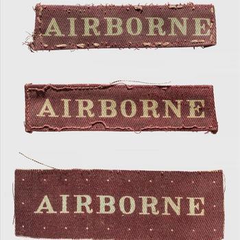 "embleem, Brits Airborne"" Division Patches set - rechthoekig"