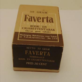 Faverta surrogaat rook en cigarettentabak (bevat geen tabak)