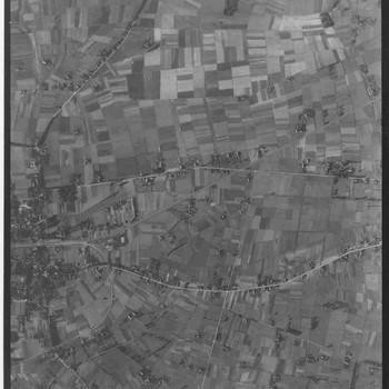 Luchtfoto van het Rijk van Nijmegen