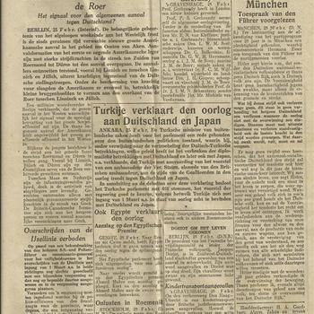 De Gooi- en Eemlander, 74ste Jaargang, No 48. 26 februari 1945
