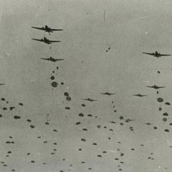 landing Para's bij Overasselt;