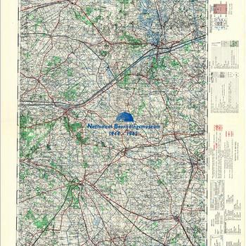 Lochem, Germany 1:50.000, Sheet 15, GSGS 4507
