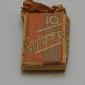 doosje Sarona's sigaren, 10 stuks