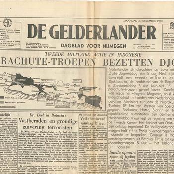 De Gelderlander , maandag 20 december 1948, Dagblad voor Nijmegen