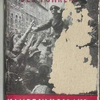 Miniatuurboekje Winterhulp. Duitsland. Des Führers Kampf in Holland