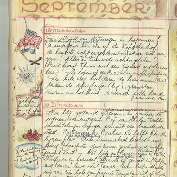 Dagboek mevrouw T. Schretlen