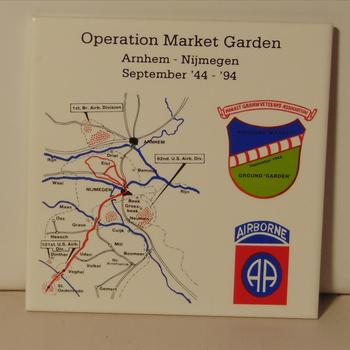 herinneringstegel, Operation Market Garden