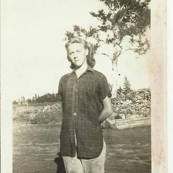 Eleanor Campbell, zus Canadese soldaat