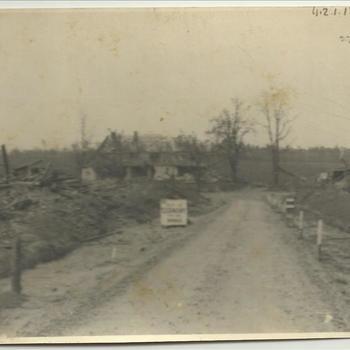 Grens, kommiezenhuis, Breedeweg, april 1945