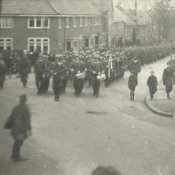 Nijmegen bombardement; Begrafenis Duitse militairen