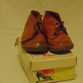schoenen, kind, jaren'50