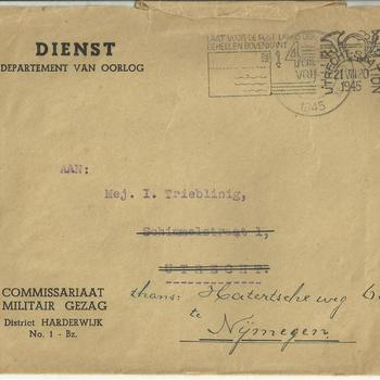 Mej I. Trieblinig te Nijmegen