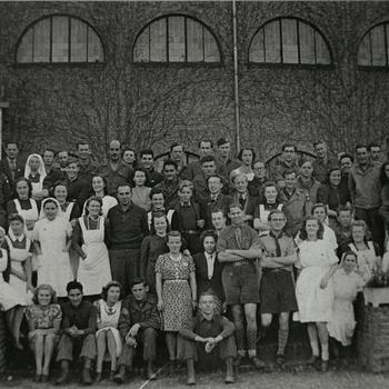Bergmanianum, 82nd Airborne, padvinders, militairen, verpleegsters