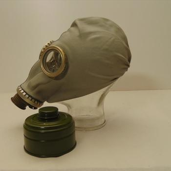gasmasker, Russisch, type G.P. 5   na-oorlogs