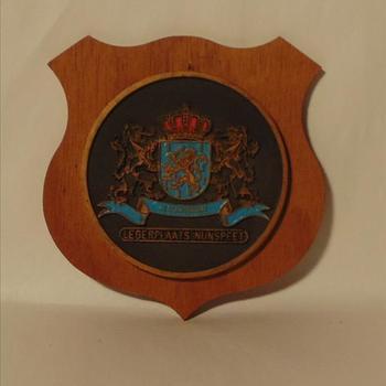 wapenschild 'Legerplaats Nunspeet'
