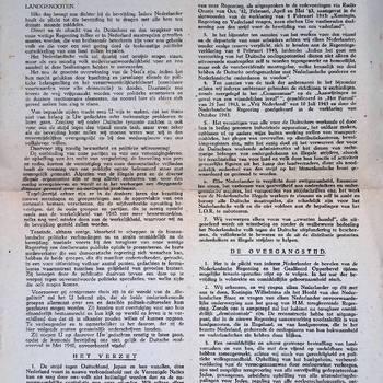 Manifest, 15 april 1944