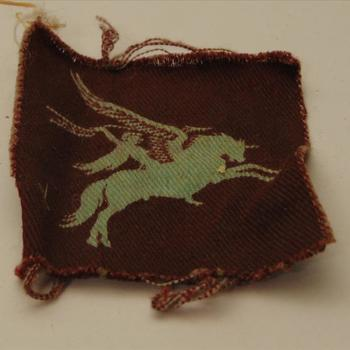 embleem, Brits Pegasus shoulder patch of the British Airborne troops of WWII.