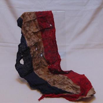 vlag, gebruikt als verpakking voor revolver, verzet WO2