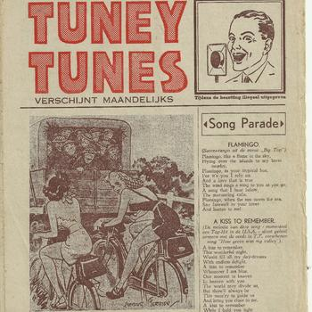 collectie Keesing, Tuney Tunes, No 18, 6 juli 1945,