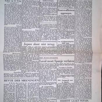 Het Parool, 31 juli 1945, 5e Jaargang, No 172