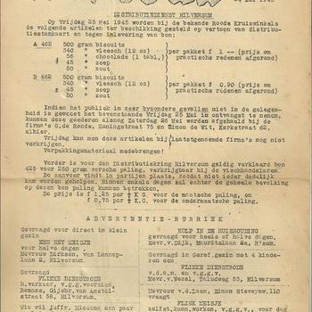 Trouw 24 mei 1945 bijvoegsel no 21
