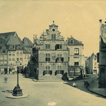 Nijmegen, Waaggebouw en Kannemarkt voor de oorlog