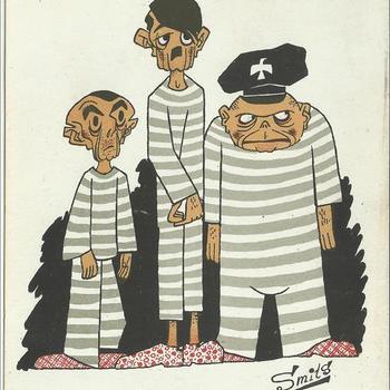 cartoons       Denn Wir fuhren gegen Engeland....