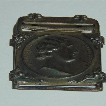 herdenkings medaille  Prinses Juliana, zilverkleurig