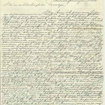Brief van Tiny Middendorp aan verloofde, 23 april 1944