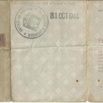 Persoonsbewijs van Johanna Maria Loermans