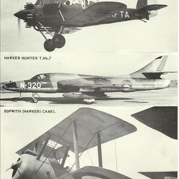 Sopwith (Hawker) Cignet; Hawker Hunter T.Nb.7; Sopwith (Hawker) Camel