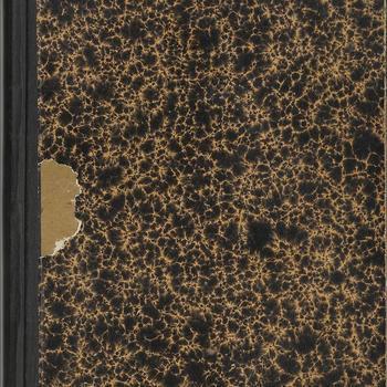 dagboek  schrift no 5  - dhr van Lieshout -