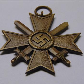 Onderscheiding. Duitsland.  Kriegsverdienstkreuz 1.Klasse mit Schwertern