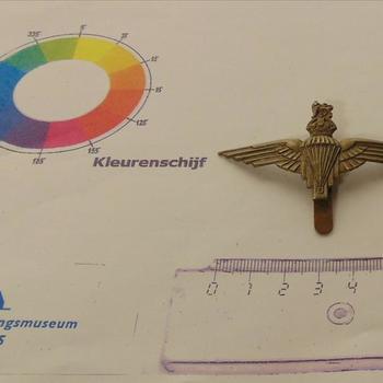 embleem metaal, Brits,  Parachute Regiment