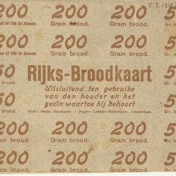 Rijksbroodkaart (Eerste Wereldoorlog)