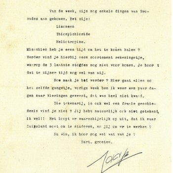 Brief  aan W. Brackman