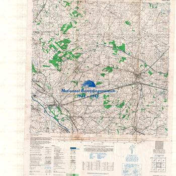 Terborg, Eastern Holland, schaal 1: 25.000, sheet 4004, AMS M832, GSGS 4414.