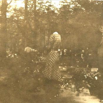 Meidagen '40, Rhenen, Grebbeberg, begraafplaats, krans