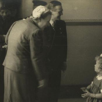 Prinses Juliana, militair, burger, jong meisje