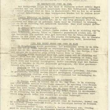 De Baanbreker Sociaal Democratisch Orgaan no 154 14 april 1945