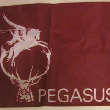 Collectie Van den Bergh, vlaggetje pegasus