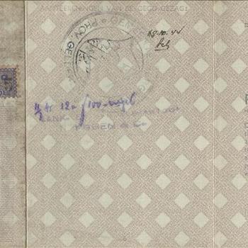 Persoonsbewijs van Luijben, Cornelis Aloysius