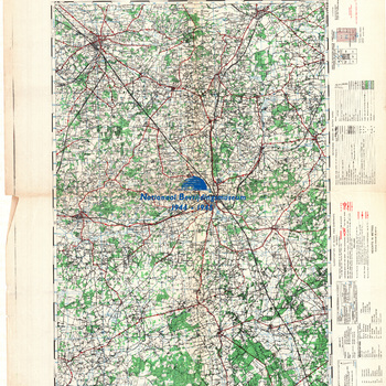Winterswijk, Germany 1:50.000, Sheet 36, GSGS 4507