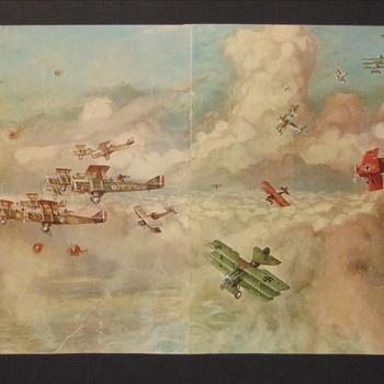 Vliegtuigen Eerste Wereldoorlog
