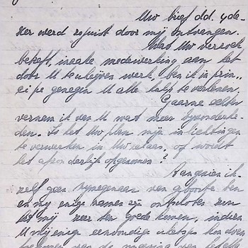 Brief van G. Leegsma aan P.C.Vermeeren, Ermelo, 10 april 1946