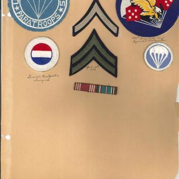 Embleem. Verenigde Staten. 506th Parachute Infantry Regiment.