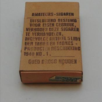 doosje Amateurs sigaren, 10 stuks