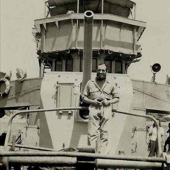 Koninklijke Marine, oorlogschip, kanon, brug, matroos, Singapore
